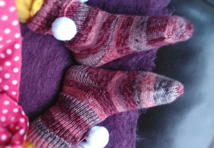 Bulle&Funambule - les chaussettes de ma petite duchesse