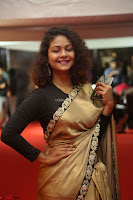 Aditi Myakal look super cute in saree at Mirchi Music Awards South 2017 ~  Exclusive Celebrities Galleries 017.JPG