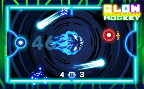 Glow Hockey merupakan salah satu game duel offline yang bisa dimainkan oleh dua orang secara bersamaan dalam satu perangkat.