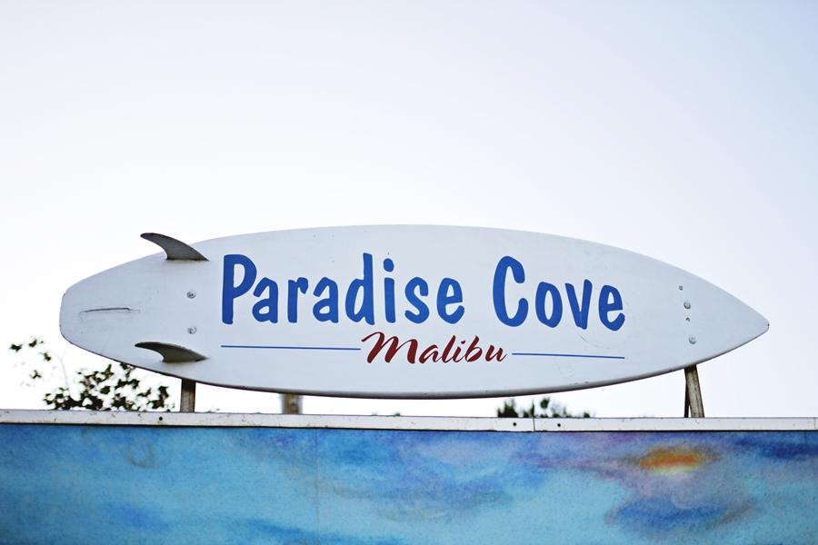paradise cove malibu beach