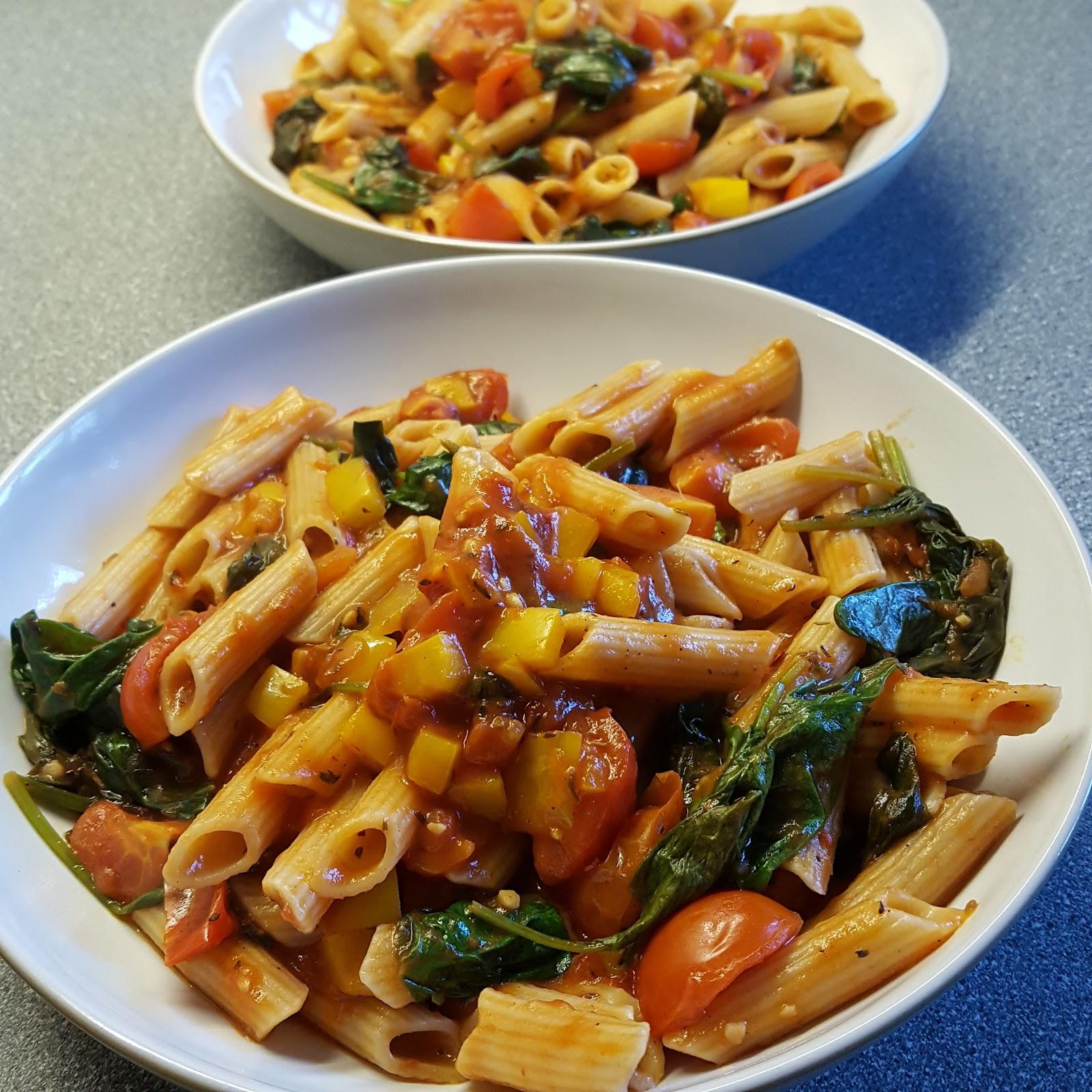Gluten free vegan pasta