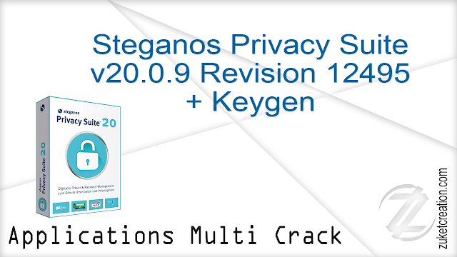 Steganos Privacy Suite v20.0.9 Revision 12495 + Keygen   |   60.1 MB