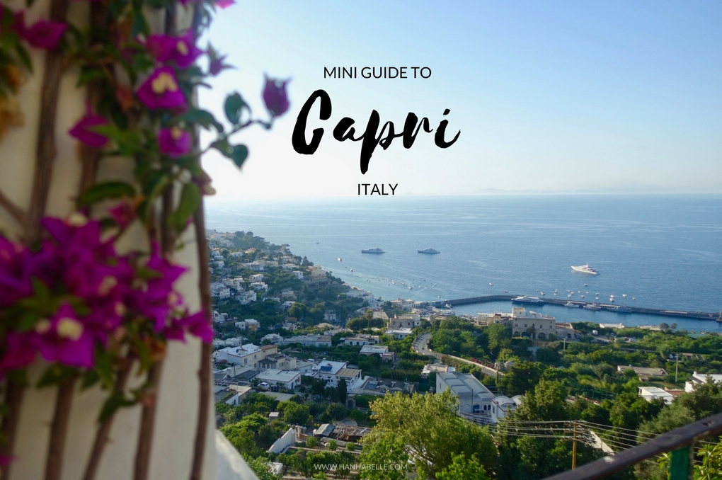 mini guide to capri italy