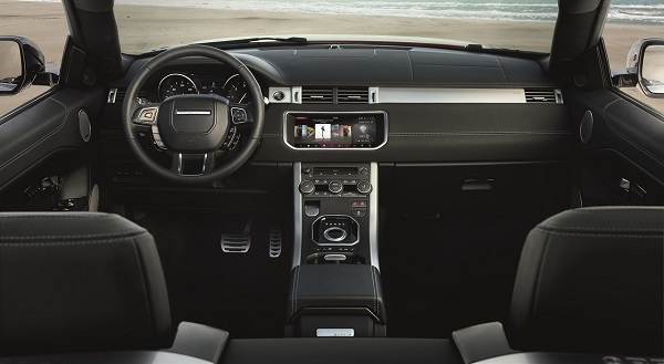 Interior Range Rover Evoque Convertible