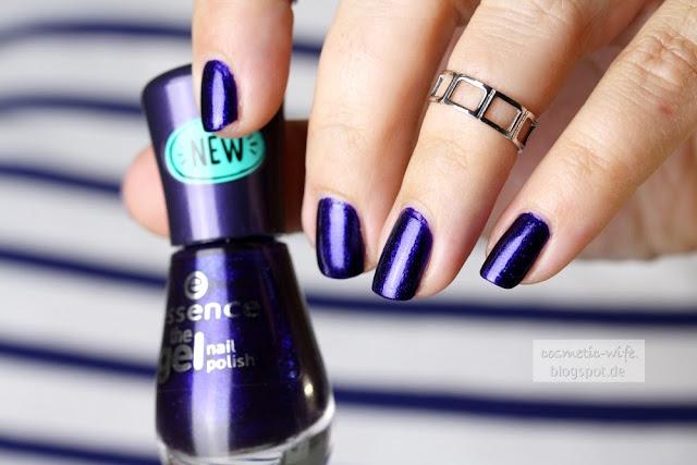 [Beauty] Essence Gel Nail polish - Midnight Sky