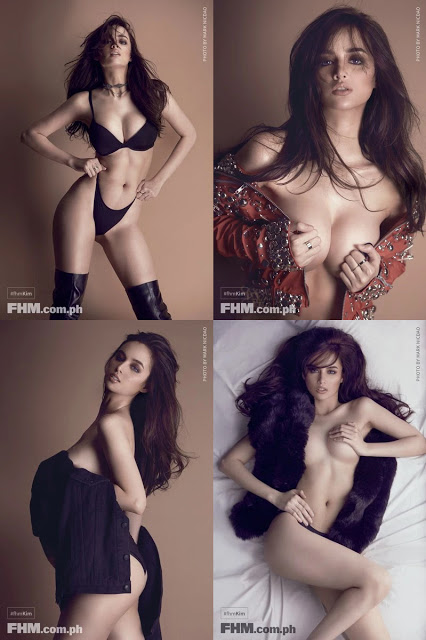 Kim Domingo Sizzles As FHM's January 2017 Covergirl! Check This Out!