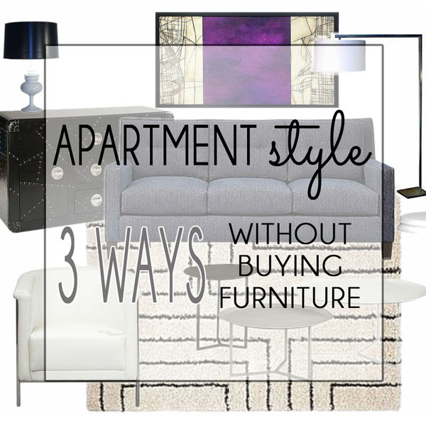 Stylish Apartment living with furniture rental