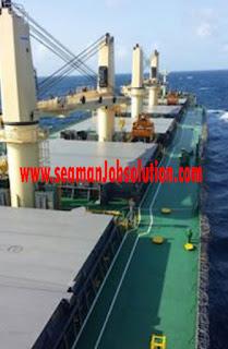 Ordinary Seaman Job For General Cargo Ship
