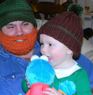 Free crochet pattern:  Easy Ribbed Beanie Hat