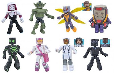 Walgreens Exclusive Marvel Animated Universe Minimates Series 8 by Diamond Select Toys