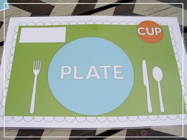 Plate Setting Ideas For Home Place Mats