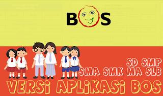 Aplikasi BOS SD|SMP|SMA|SMK|MA| Lengkap 2018