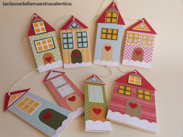 Casetta di cartone da colorare - Casetta in cartone da colorare ...