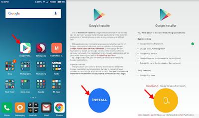 Cara Install Google Play Store di Xiaomi Redmi 3/Pro