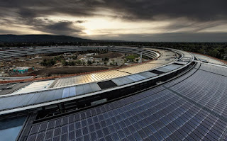 Apple Park 4K drone footage offers close look at Steve Jobs Theater