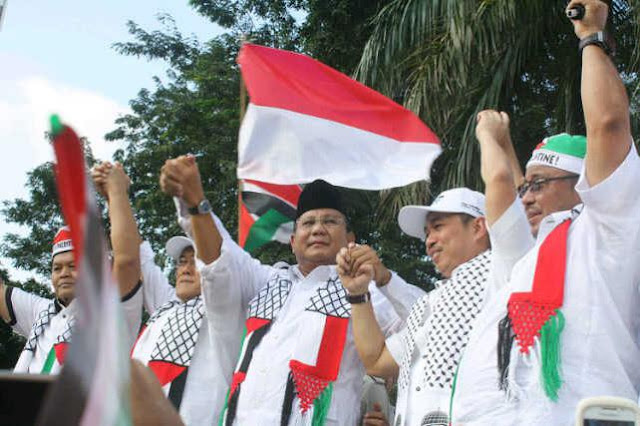 Prabowo Tidak Peduli Palestina? Pro-Israel? Warganet: Pala loe peang!