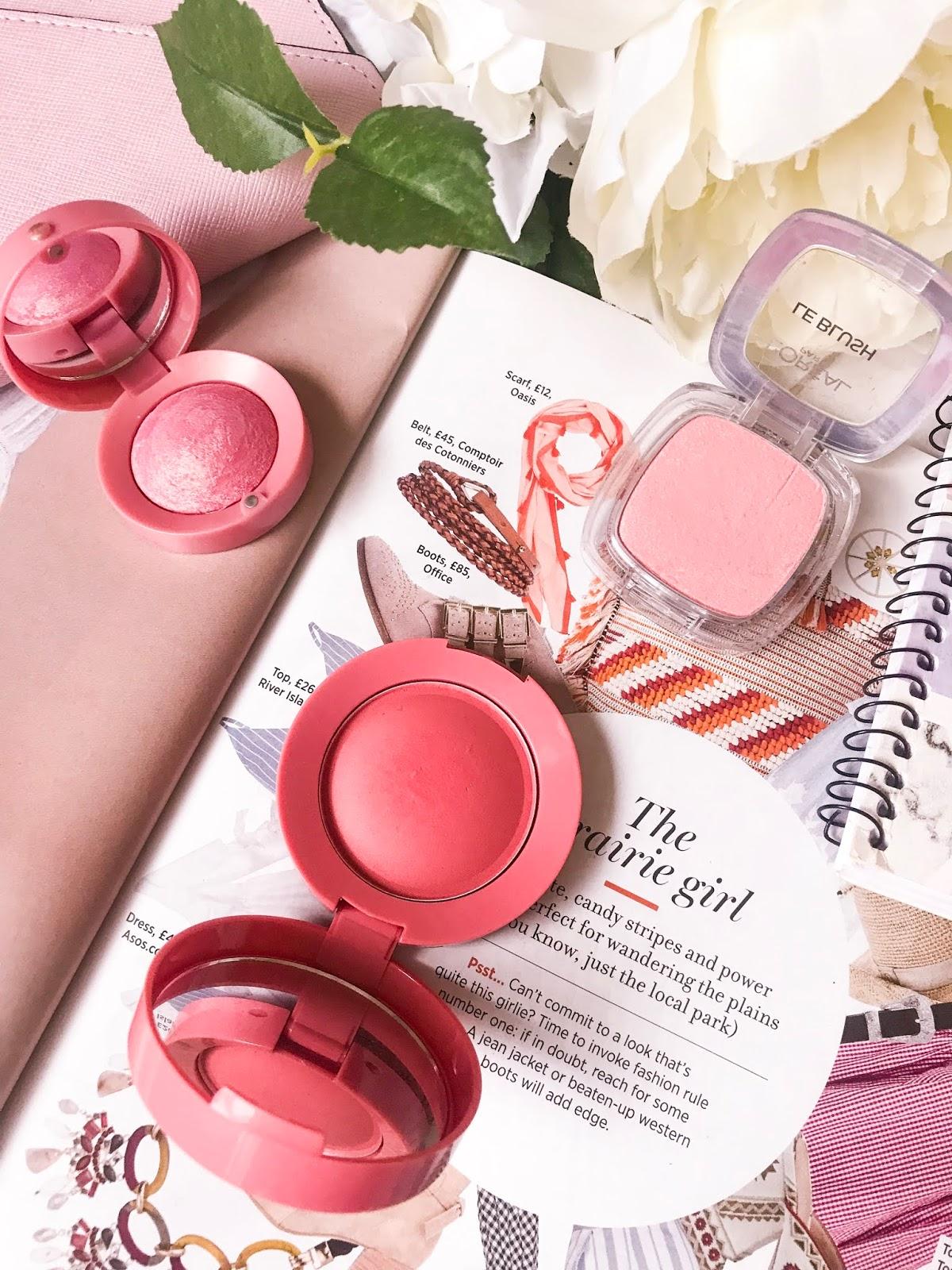 drugstore blushes