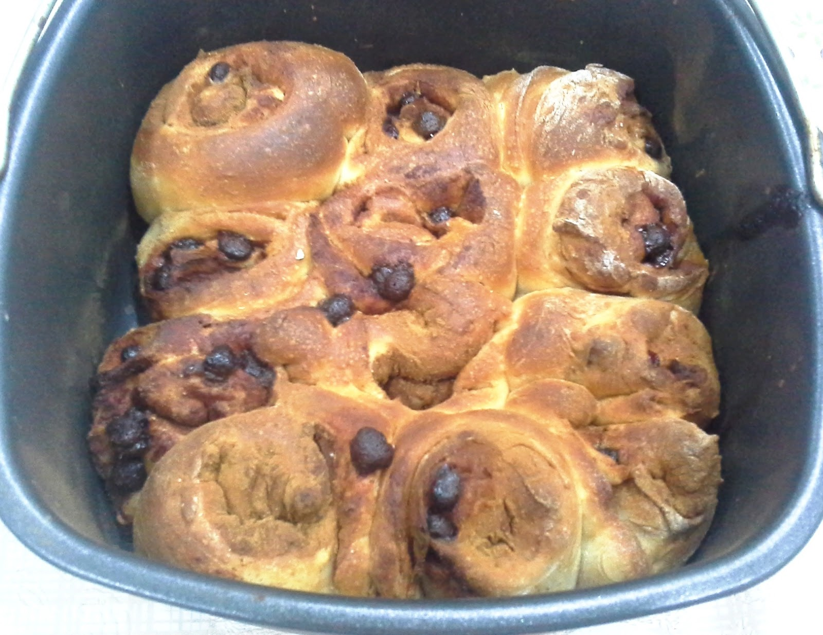 Cinnamon Bread Rolls Using Breadmaker And Airfryer