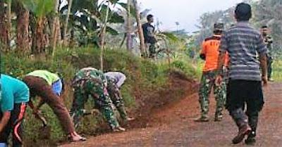 ''Adu Pantat Tak Jadi Soal, Asal Pekerjaan TMMD Selesai