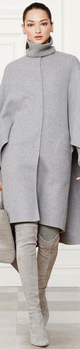 Ralph Lauren Cashmere Blend Ellison coat Fall 2014 Collection