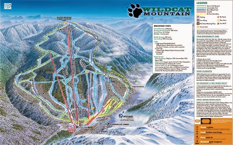 The Top 10 Best Ski Racing Resorts East Coast » Arctica: East Coast Ski Resort Map At Slyspyder.com