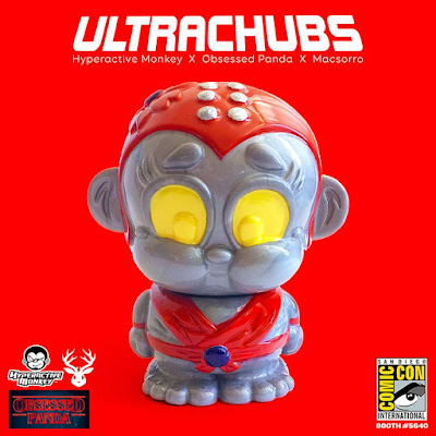 San Diego Comic-Con 2018 Exclusive Ultra Chubs Vinyl Figures by Hyperactive Monkey x Obsessed Panda x Macsorro