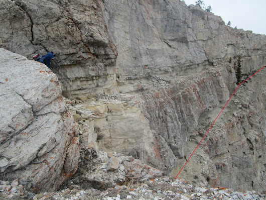 Back to Wagner Basin and Front; a climbing find