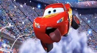 Mobil McQueen Balapan