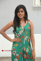 Actress Eesha Latest Pos in Green Floral Jumpsuit at Darshakudu Movie Teaser Launch .COM 0045.JPG