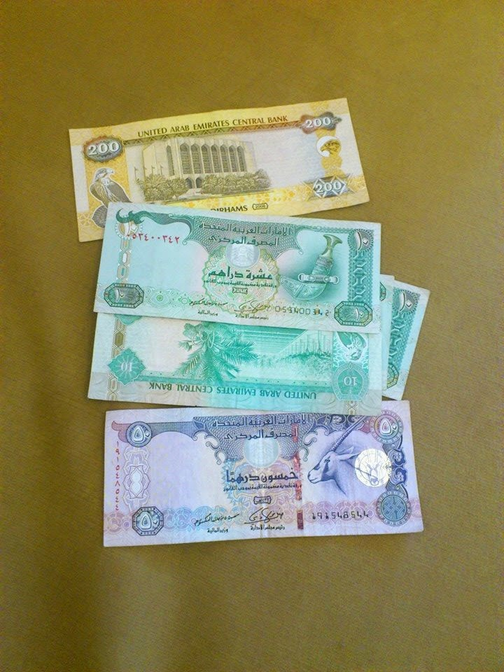 United Arab Emirates Dirhams