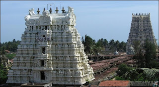 famous Ramanathaswamy temple