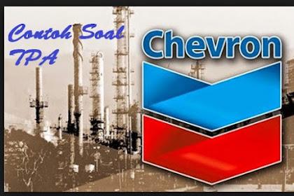 Contoh Soal TPA Chevron tahun 2019 + Jawaban + Pembahasan Gratis