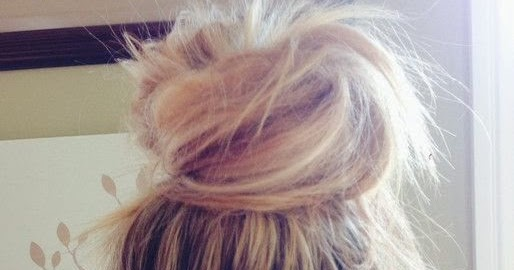 How To Make A Messy Top Knot Bun Top Knot Bun How To Beauty
