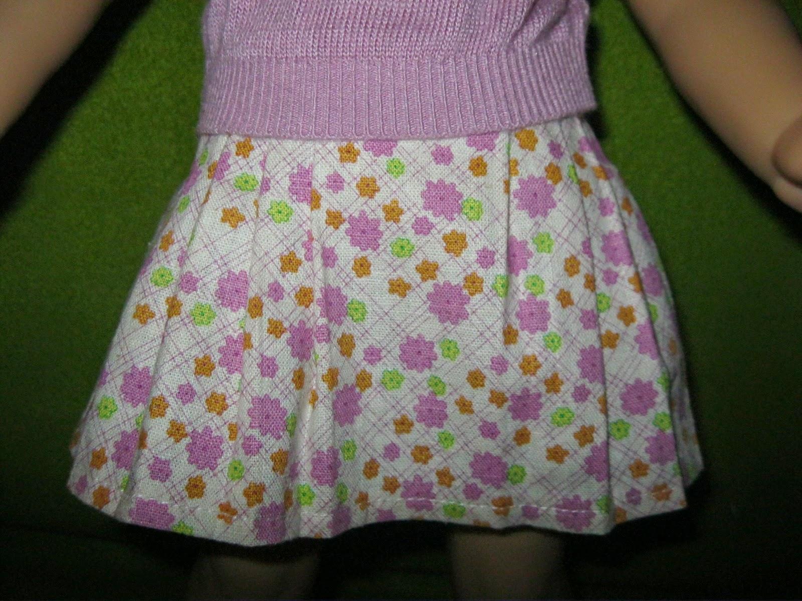 American Girl Kit/'s Meet Skirt Classic New Floral Retired