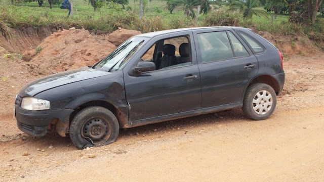Grave acidente de trânsito na zona rural de Rolim de Moura deixa vítima com fratura exposta