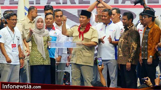 10 Janji Politik Prabowo dengan KSPI, Salah Satunya Penghapusan Tenaga Kerja Asing.
