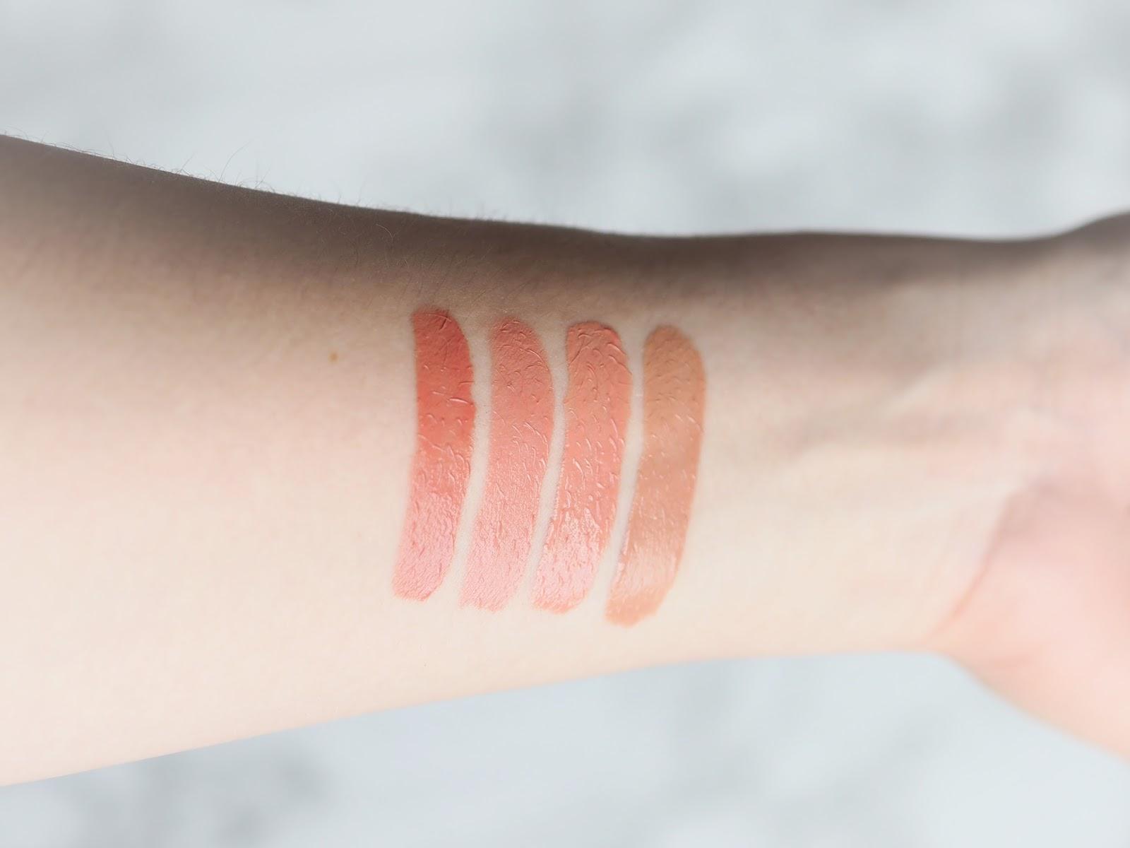 KKW By Kylie Cosmetics Crème Liquid Lipstick, review, first impressions, swatches, kim, kiki, kimmy, kimberly, blog