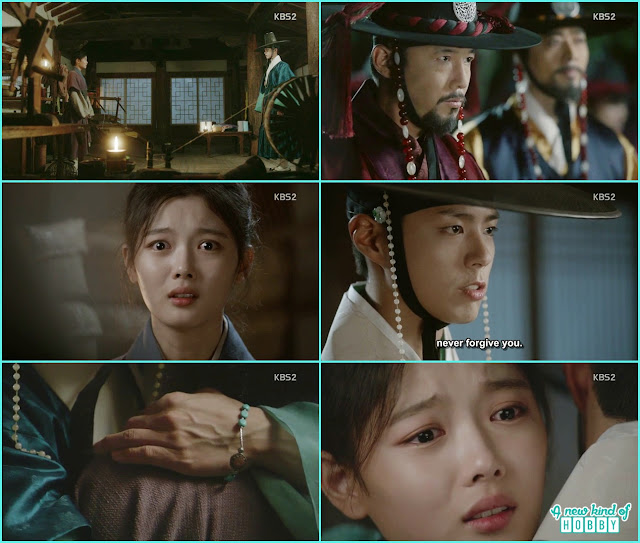at thye destined place ra on meet Crown Prince  - Love In The Moonlight - Episode 14 Review (Eng Sub) - park bo gum & kim you jung