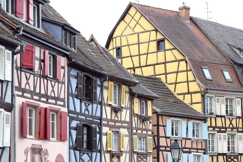 Colmar, wie Belle's Dorf aus Die Schöne und das Biest