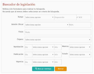 buscador legislación
