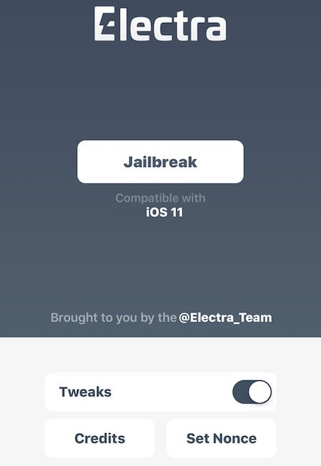 CoolStar Electra1141 Jailbreak for iPhone, iPad, and iPod