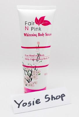 Fair N Pink BPOM - Hand And Body Lotion Whitening (Body Serum160gr)