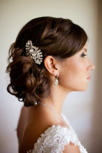 Possible wedding hair style}