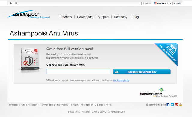 ashampoo antivirus 2015 full crack