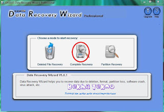 Easus Data Recovery Wizard 1