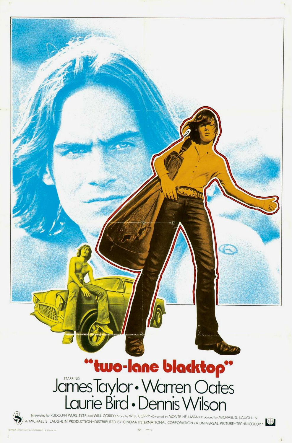 Vagebond S Movie Screenshots Two Lane Blacktop 1971