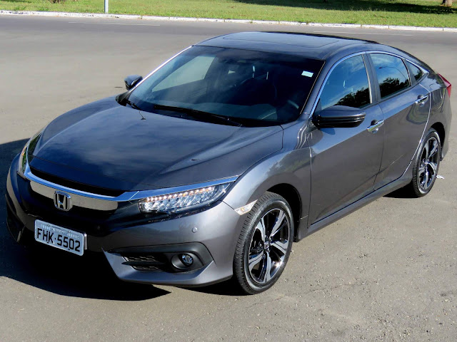 Novo Honda Civic 2017 Touring