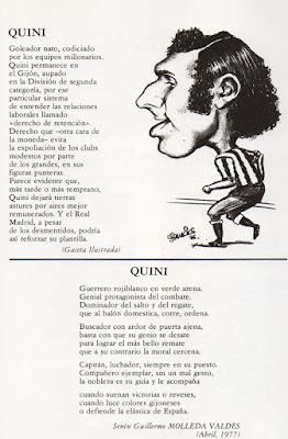 Del libro Compañero Quini