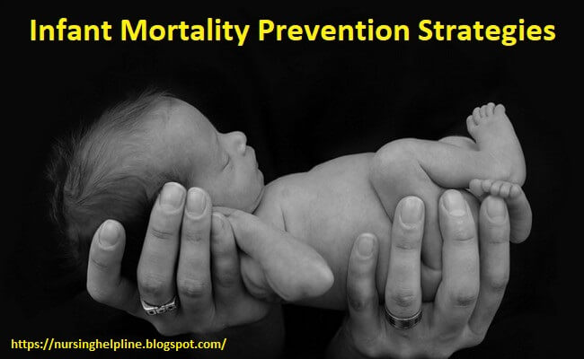 Infant mortality prevention strategies