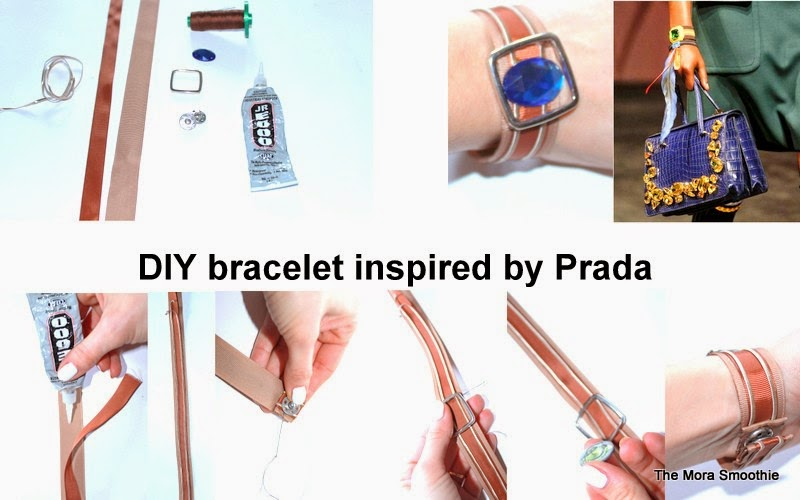 DIY blog, diy blogger, blogger, prada, fashionblog, fashionblogger, themorasmoothie, bracelet, diyfashion, tutorial, diyproject, diyitalian, diy bracelet, diy prada, craft, diycraft, tutorialbracelet, tutorial prada, handmade, do it your self